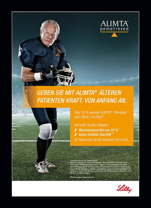 Pharma Kampagne Anzeige