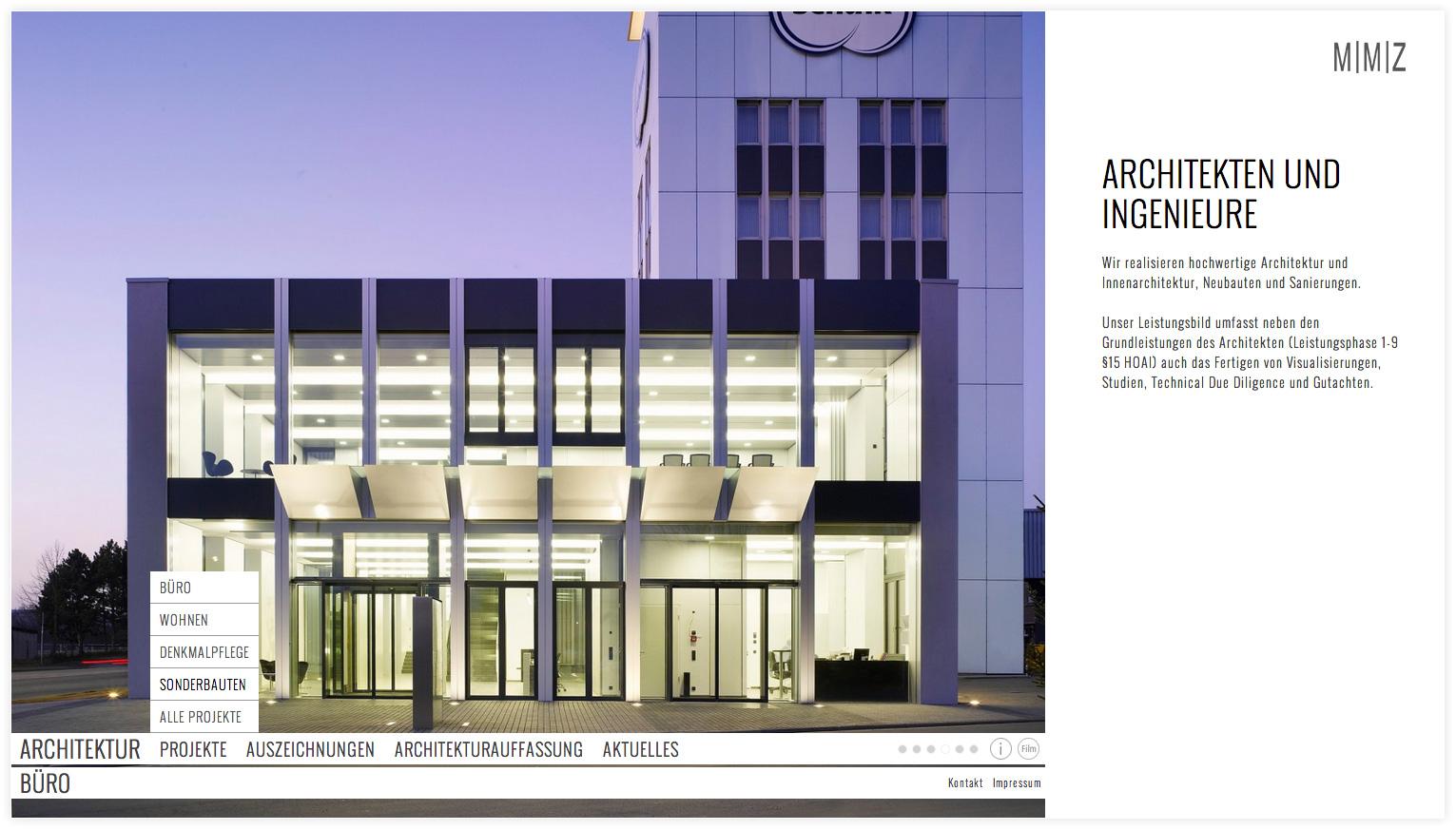 Architekten internetpr senz mmzz ndung - Mmz architekten ...