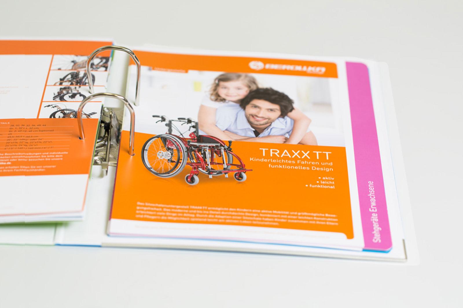 Markenentwicklung Rollstuhlhersteller
