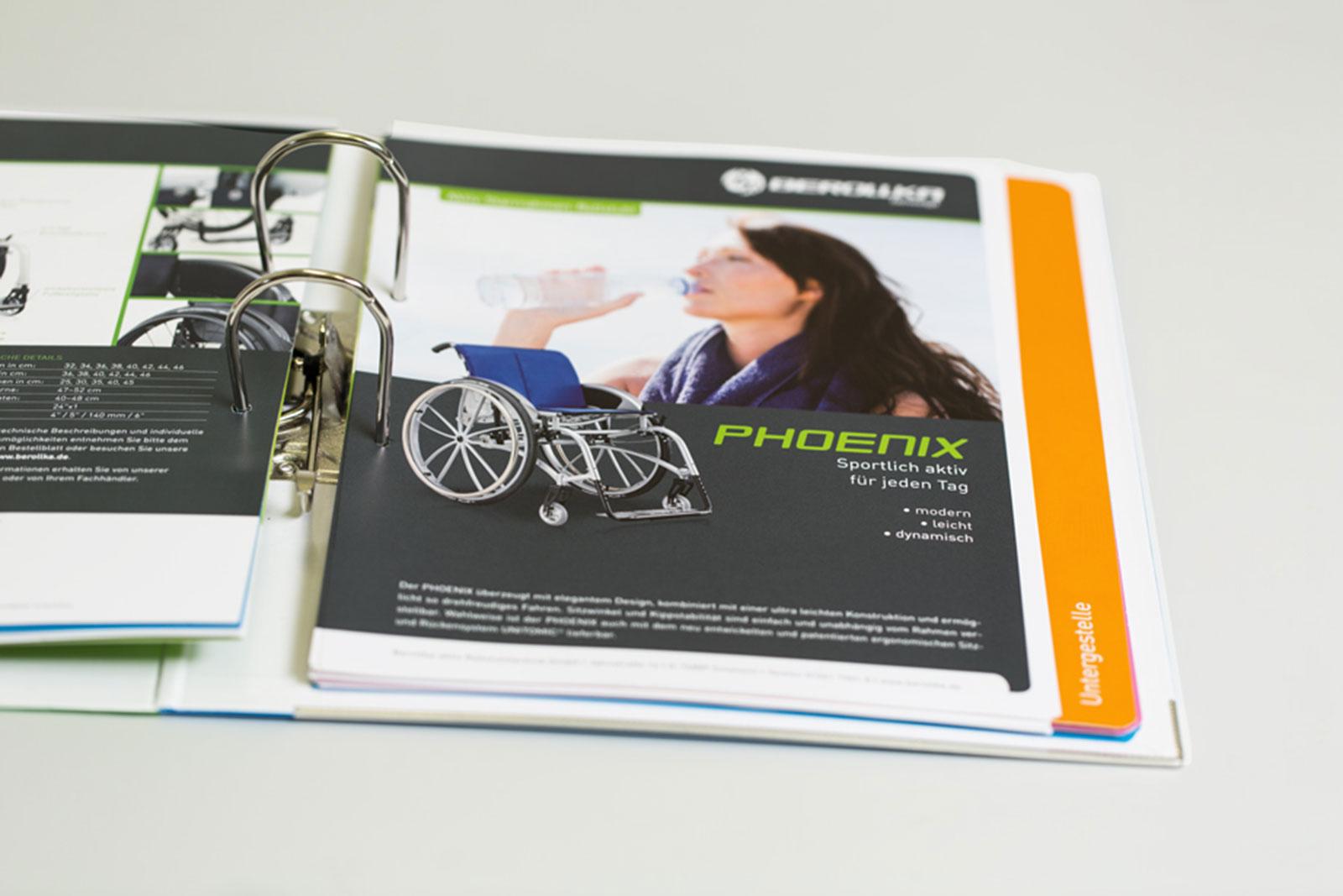 Markenentwicklung Rollstuhlhersteller Produktlinie Sport