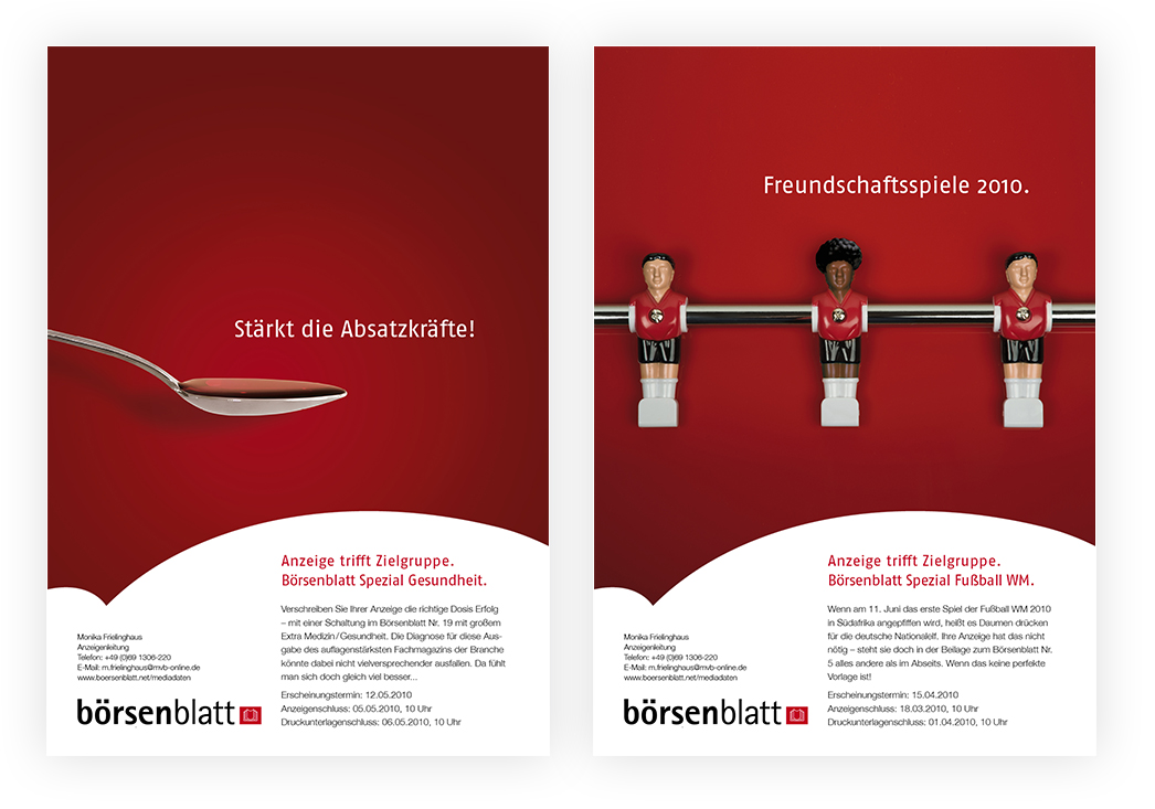 Anzeigenserie Börsenblatt Spezial 06