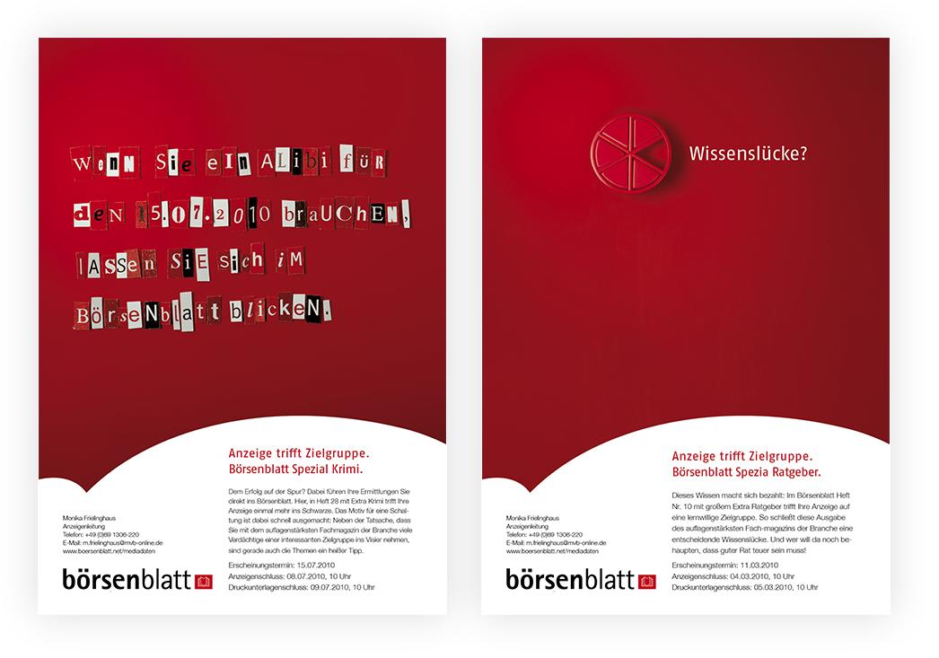 Anzeigenserie Börsenblatt Spezial 05