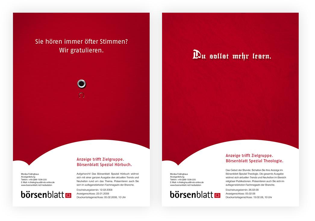 Anzeigenserie Börsenblatt Spezial 04