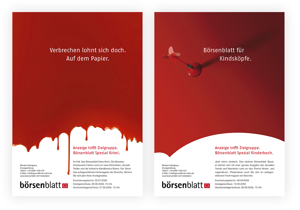 Anzeigenserie Börsenblatt Spezial 03