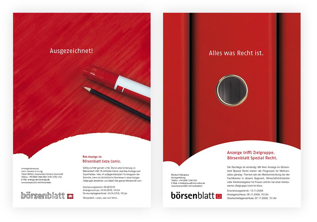 Anzeigenserie Börsenblatt Spezial 02