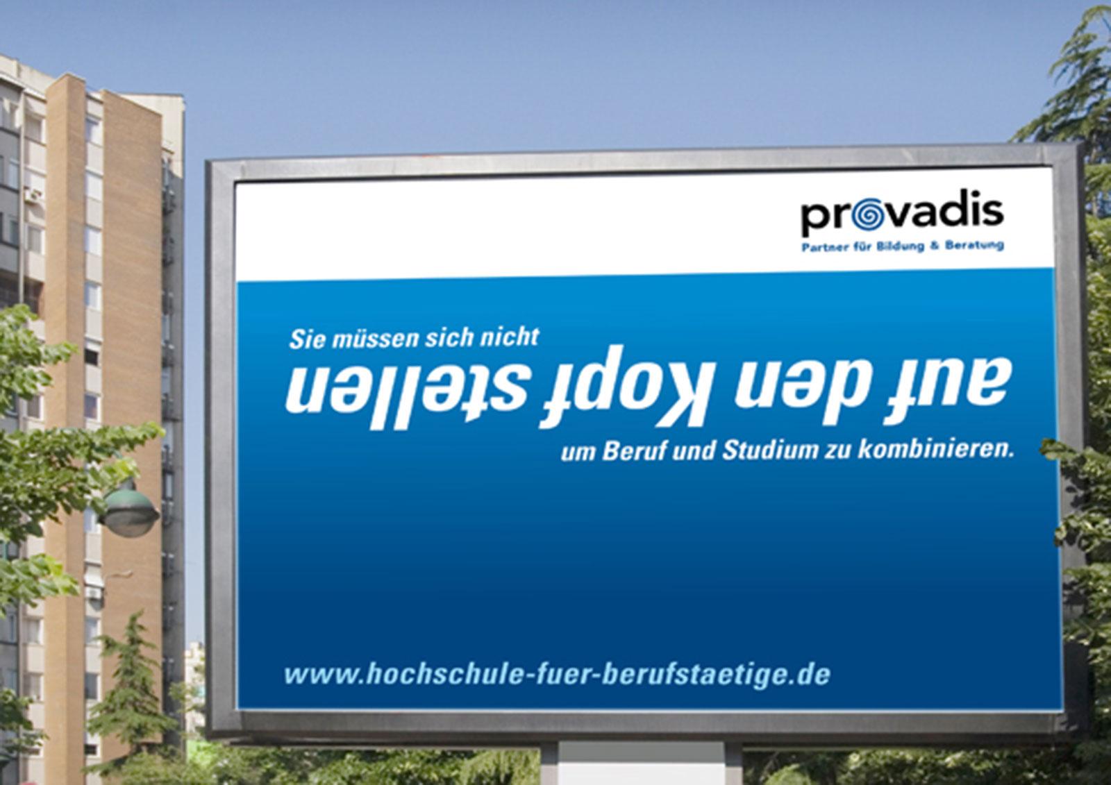 Ausbildungskampagne Provadis Plakat
