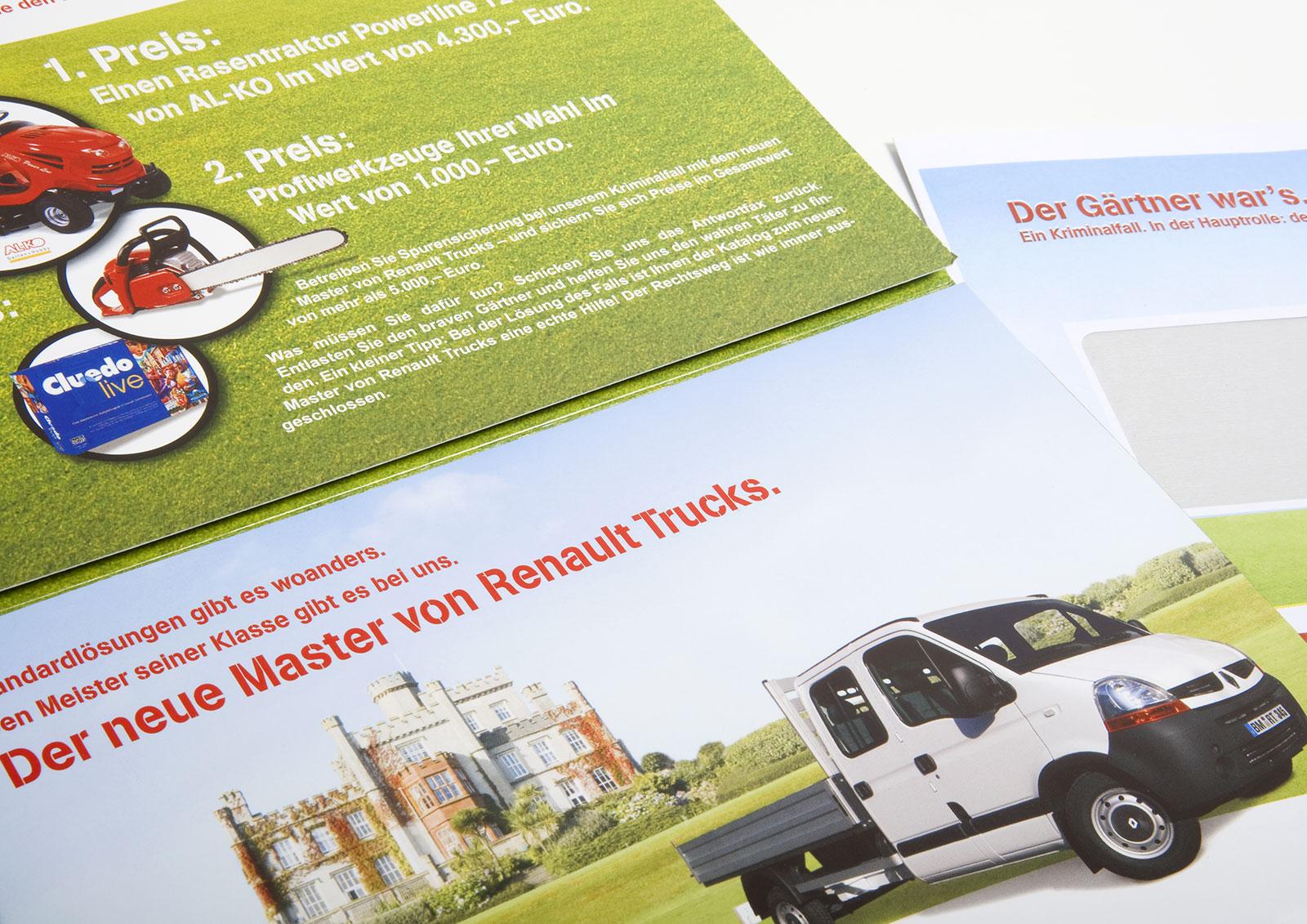 Postalisches Mailing Garten- und Landschaftsbau 2