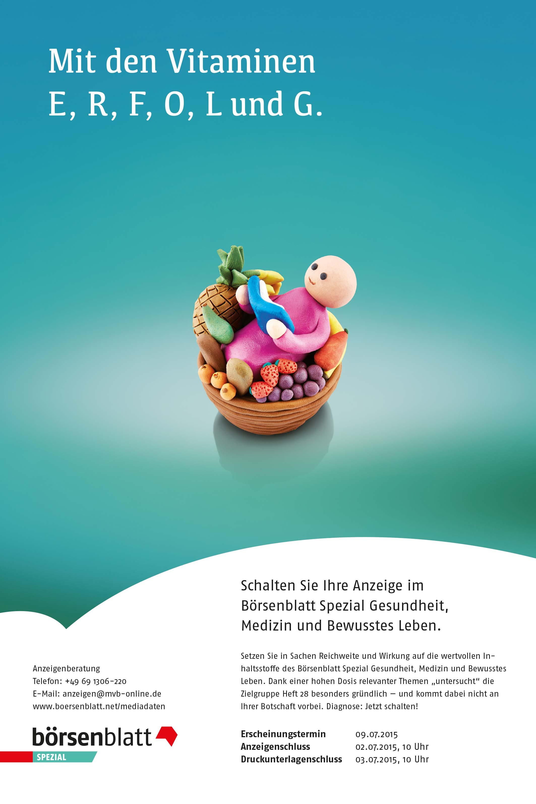 Anzeigenserie_Knetfiguren_Börsenblatt_Spezial_Medizin_Gesundheit