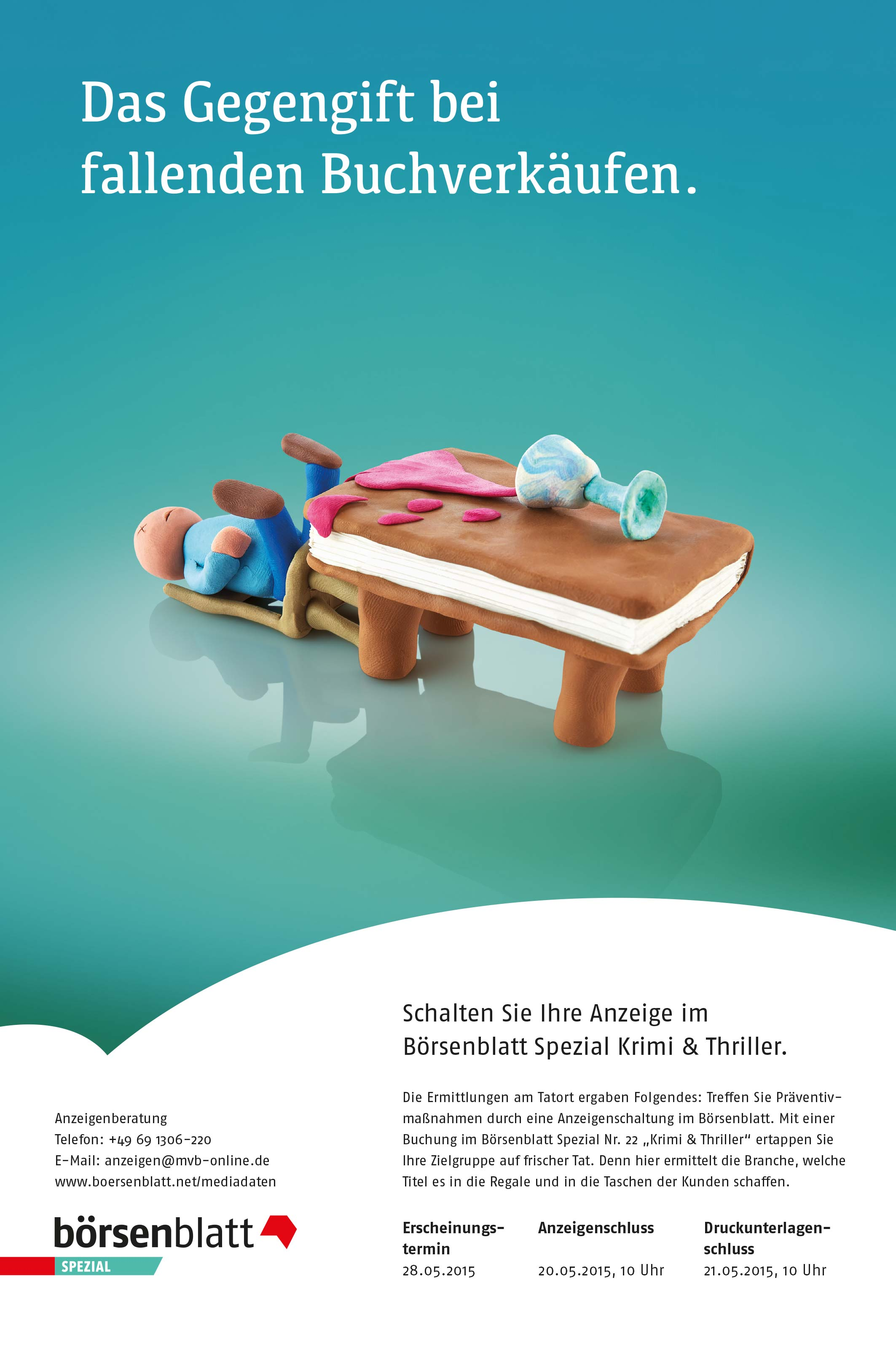 Anzeigenserie_Knetfiguren_Börsenblatt_Spezial_Sachbuch Krimi