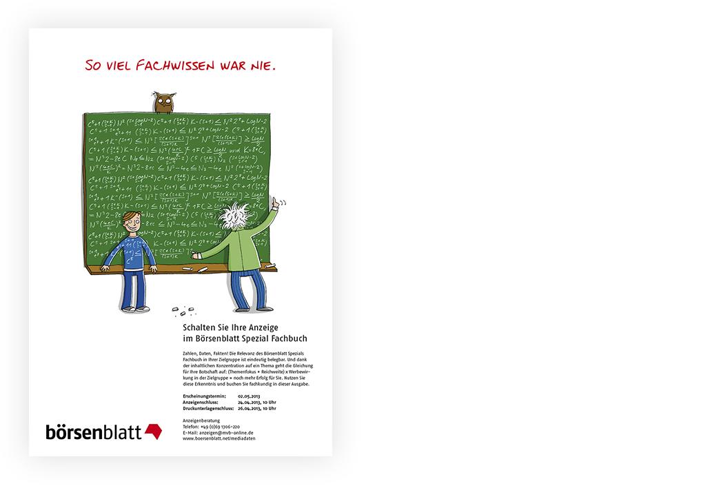 Illustration_Anzeigenserie_Börsenblatt_Spezial_Fachbuch