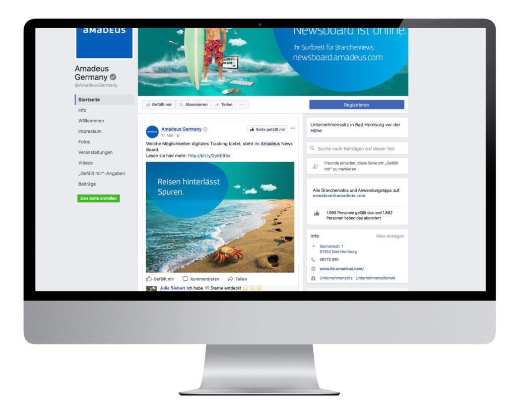 Social Media Kampagne für Reisebüros