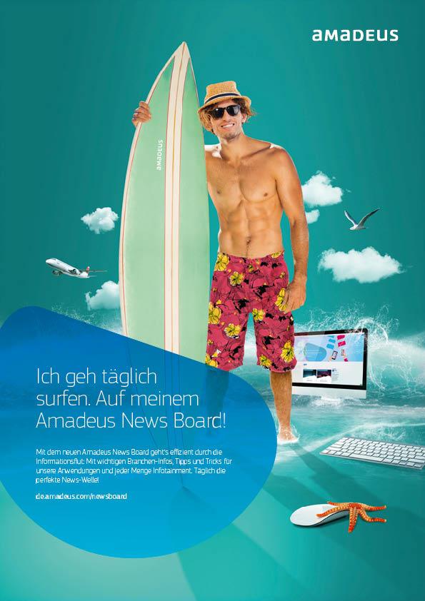 amadeus Reisen Werbeagentur