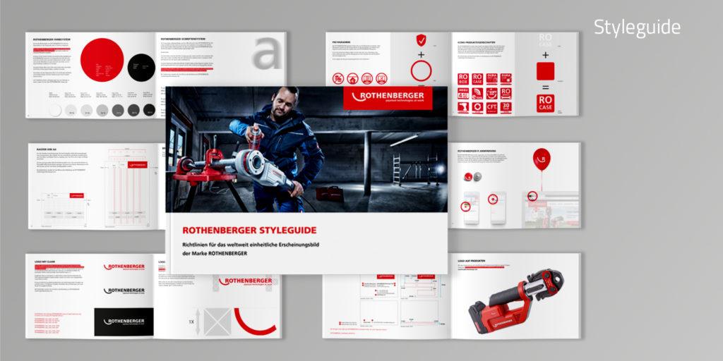 Styleguide Rothenberger Unternehmen für Rohrwerkzeuge