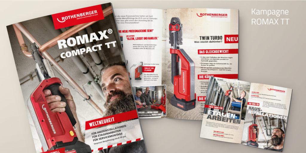 ROMAX TT Kampagnen für Rohrwerkzeuge